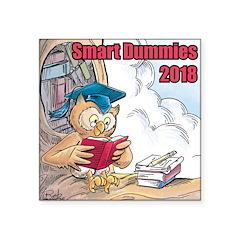Smart Dummies 2018 Logo Square Sticker