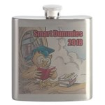 Smart Dummies 2018 Logo Square Flask