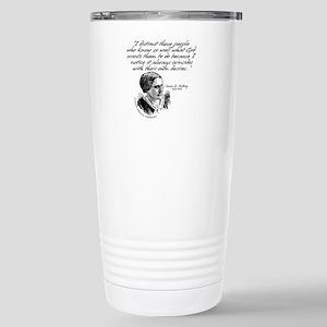 Susan B. Anthony Stainless Steel Travel Mug