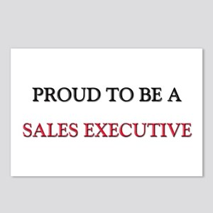 Proud to be a Sales Executive Postcards (Package o