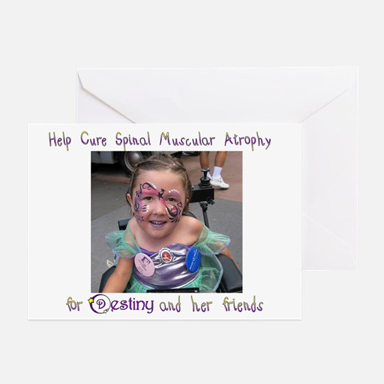 Cure SMA for Destiny Greeting Cards (Pk of 10)
