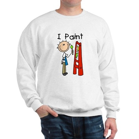 I Paint Sweatshirt