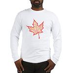 Fire Leaf Long Sleeve T-Shirt