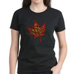Fire Leaf Women's Dark T-Shirt