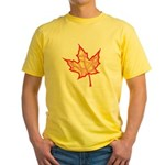 Fire Leaf Yellow T-Shirt