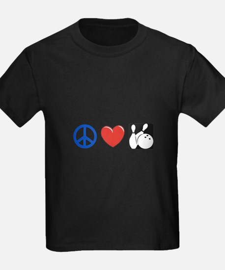 Peace. Love, Bowling T