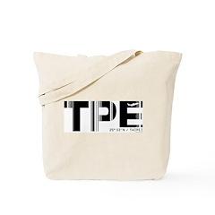 Taipei Airport Code Taiwan TPE Tote Bag