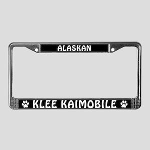 Alaskan Klee Kaimobile License Plate Frame