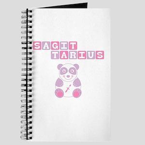 Sagittarius Bear - Pink Journal