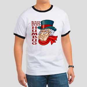 Humbug Scrooge Ringer T