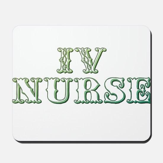 IV Nurse Mousepad
