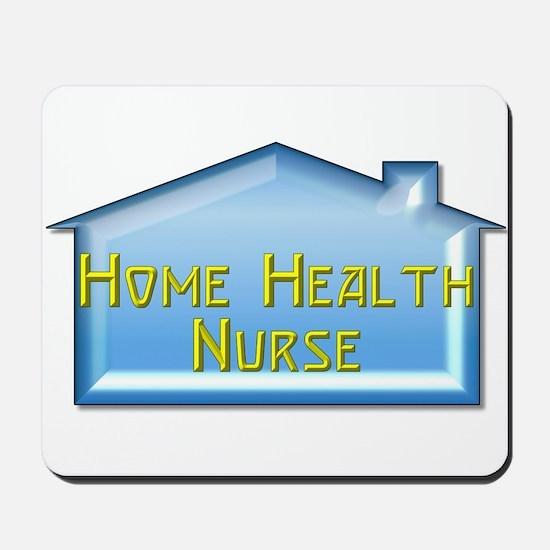 Home Health Nurse Mousepad