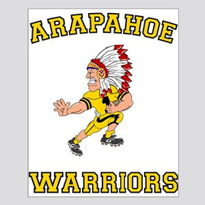Arapahoe Warriors Small Poster