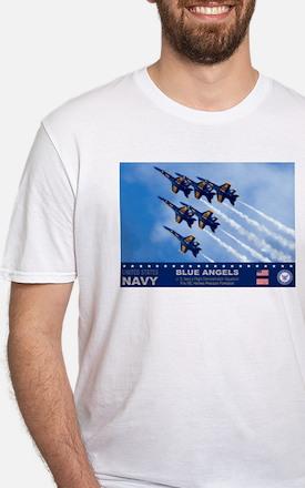 Blue Angels F-18 Hornet Shirt
