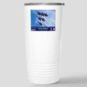 Blue Angels F-18 Hornet Stainless Steel Travel Mug