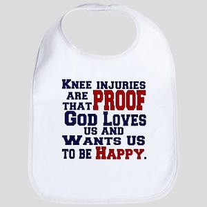 Knee Injuries=Happy Bib