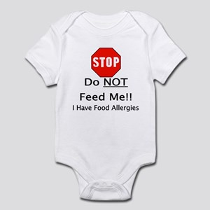 Do not feed me, allergies Body Suit