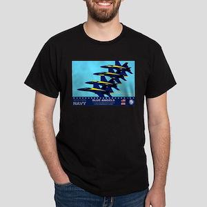 Blue Angels F-18 Hornet Dark T-Shirt