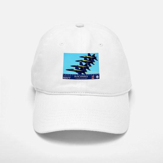 Blue Angels F-18 Hornet Baseball Baseball Cap