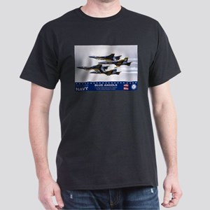 Blue Angels F-18 Hornet Dark T-Shirt