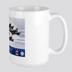 Blue Angels F-18 Hornet Large Mug
