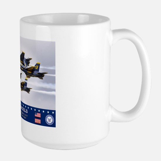 Blue Angels F-18 Hornet Large Mug