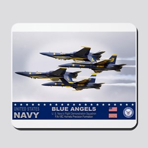 Blue Angels F-18 Hornet Mousepad