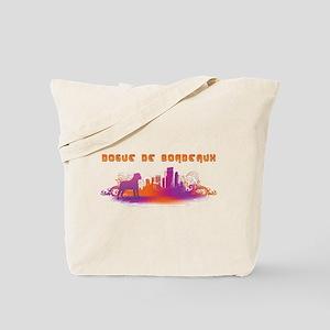 """""""City"""" Dogue de Bordeaux Tote Bag"""