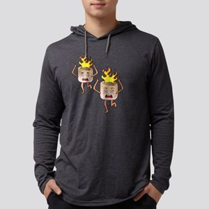 Get Lit Marshmallows With Head Long Sleeve T-Shirt