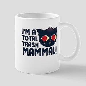 Hello, I am a Total Trash Mammal Mugs
