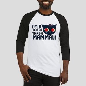 Hello, I am a Total Trash Mammal Baseball Jersey