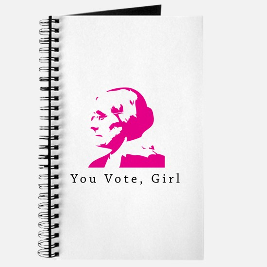 Susan B Anthony You Vote,Girl Journal