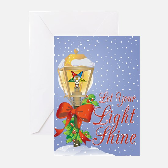 Let Your Light Shine OES Greeting Cards (Pk of 20)