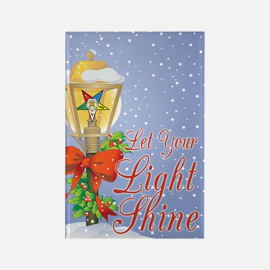 Let Your Light Shine OES Rectangle Magnet