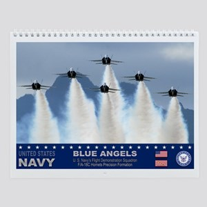Blue Angels F-18 Hornets Wall Calendar