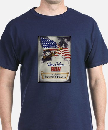 These Colors Run (Obama) T-Shirt