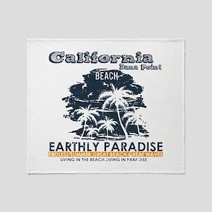 California - Dana Point Throw Blanket