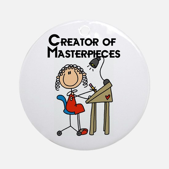 Creator of Masterpieces Ornament (Round)