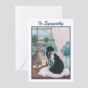Rabbit Sympathy Greeting Cards (Pk of 20)