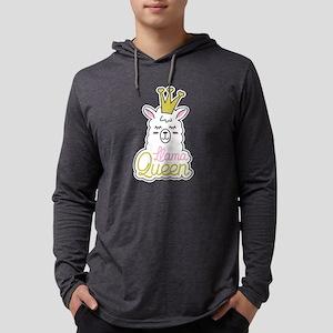 Llama Lama Alpaca Llama queen Long Sleeve T-Shirt
