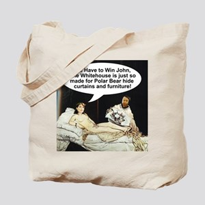 Manet Sarah Palin Tote Bag