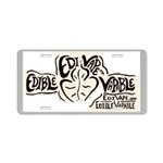 EdiVape™ Aluminum License Plate