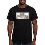 EdiVape™ Men's Fitted T-Shirt (dark)
