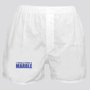 I Swallowed a Marble Boxer Shorts