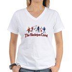 The Skeleton Crew Women's V-Neck T-Shirt