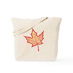 Fire Leaf Tote Bag