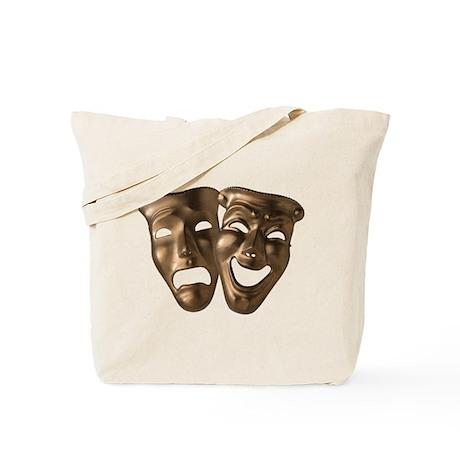 Drama and Comedy Masks Tote Bag