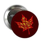 "Fire Leaf 2.25"" Button"