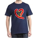 Take care of your heart Dark T-Shirt
