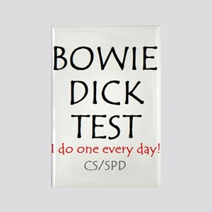 Bowie Dick Rectangle Magnet